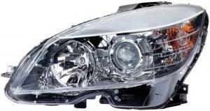 W204 Halogen Headlight Left Hand Side (NEW)