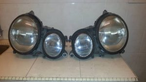 W210 HEAD LAMP FACELIFT XENON LIGHT (USED)